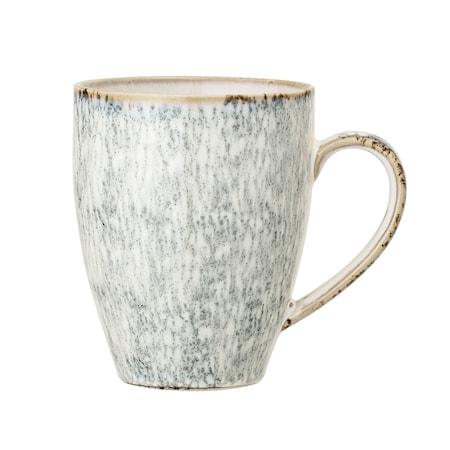Natasha Mug Grey Stoneware