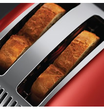 Russell Hobbs Colours Red 2 Slice Toaster