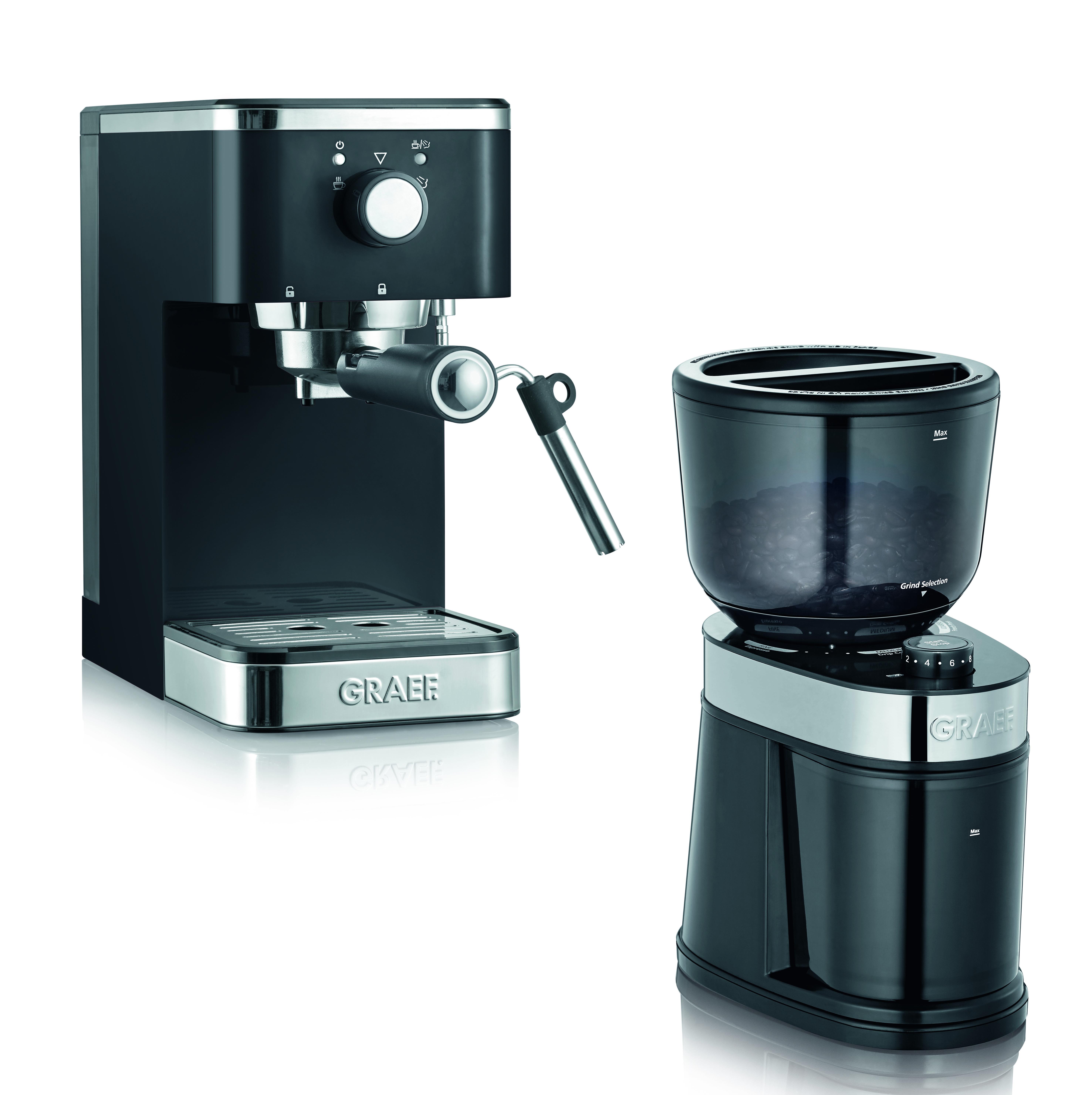 Salita Manuell Espressomaskin och Kaffekvarn Set
