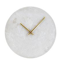 Väggklocka Watch Ø 28 cm Betong