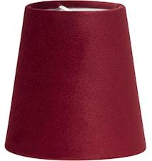 Lampskärm Queen Sammet Röd