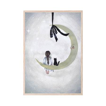 Poster Moonlight 21x30cm