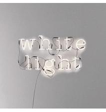 Neon art - White light