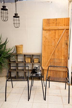 Tuuli Cafébord rektangulärt Svart