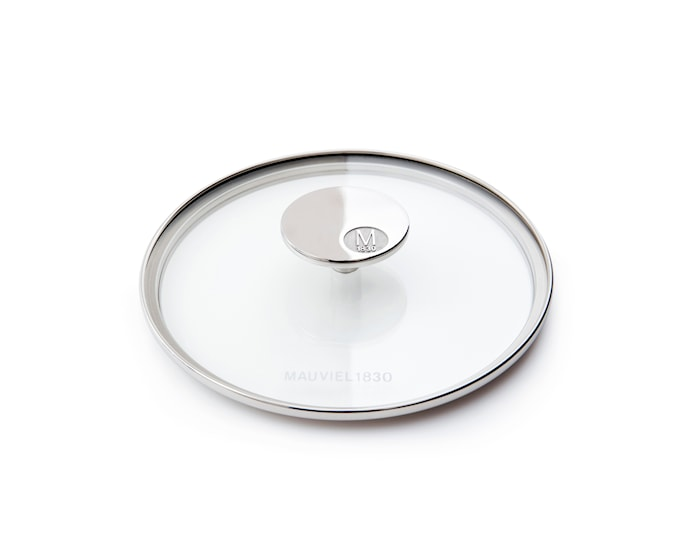 M'360 Glasslokk Ø18cm glass/stål