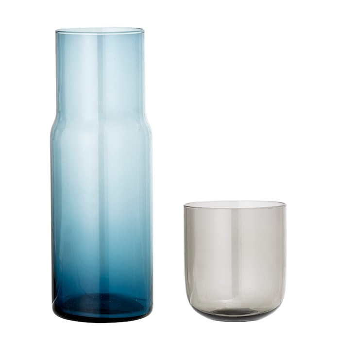 Decanter & Glas, Multi-color, Glas