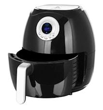 Smart Fryer Kuumailmakeitin Musta 4,5 litraa