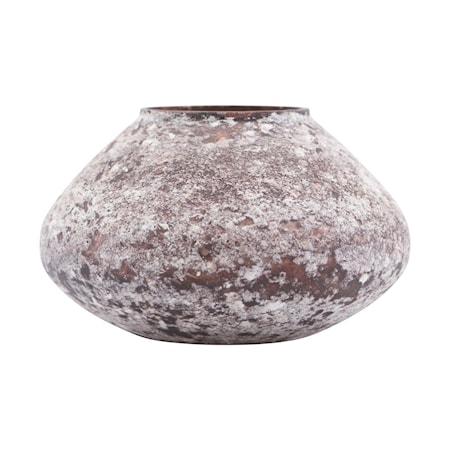 Miles vase brun 8 cm