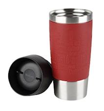 TRAVEL MUG 0.36L red sleeve