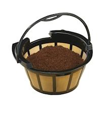 Filtre à café permanent 10-12 tasses or
