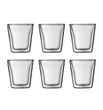 Bodum Canteen Dubbelväggat Glas 6 st 10 cl