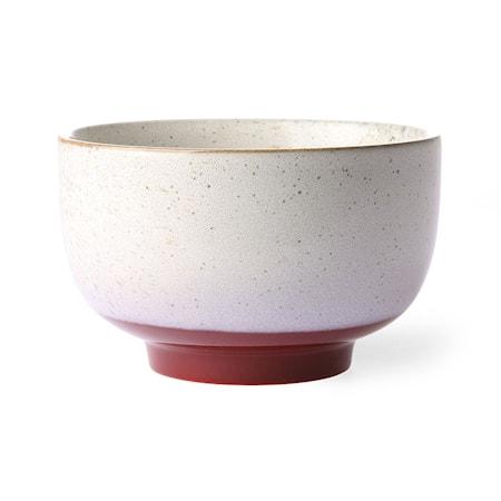 Ceramic 70's Noodle Skål Frost