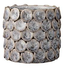 Blomkruka Hettie 12cm Grå