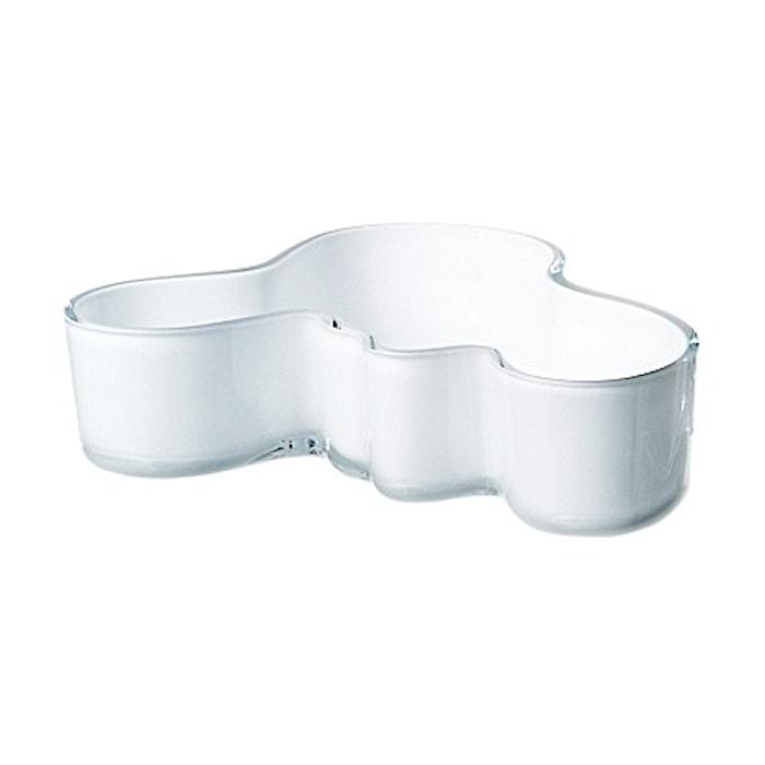 Aalto skål 195x50 mm vit