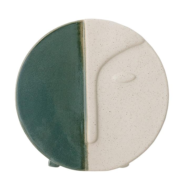 Väggvas Grön Stengods