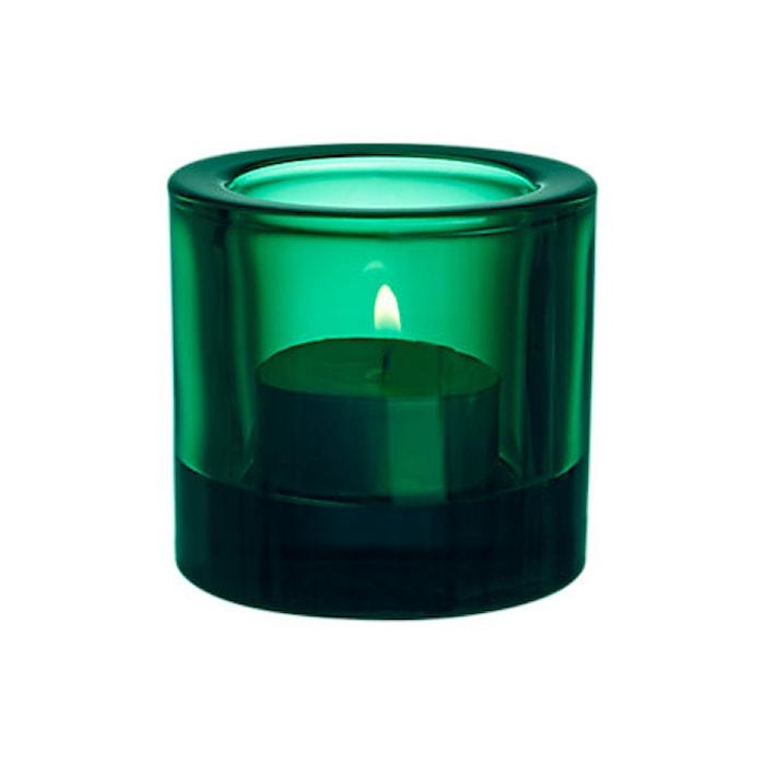 Kivi ljuslykta 60mm Smaragd Presentförpackning