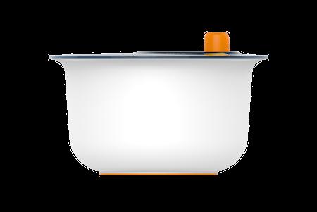 Functional Form Salladsslunga Plast Vit