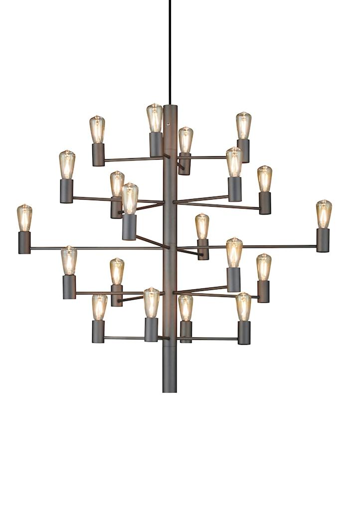 Manola 20 Kronor Grafit E14 Dimbar LED
