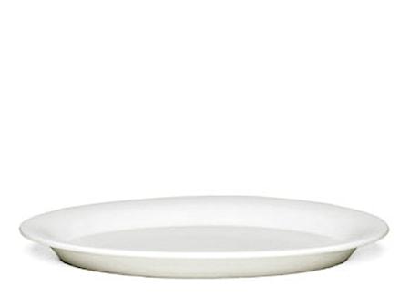 Ursula Oval tallrik 33 cm vit (13079)