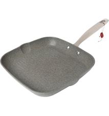 Grillipannu 28 cm Alumiini Harmaa