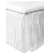 Mira loose fit sengekappe – White, 180x220x42