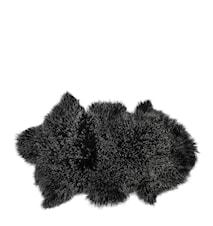 Fåreskind, Tibetan, Sort, L: 90 cm