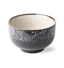 70's Skål Keramik Sort 50 cl