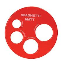 Mesure pour spaghetti couleurs non triées