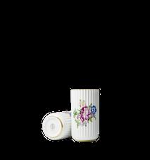 Lyngbyvasen med blomsterdekoration Vit Porslin 15cm