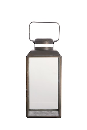 Ljuslykta Vintage 30 cm Svart