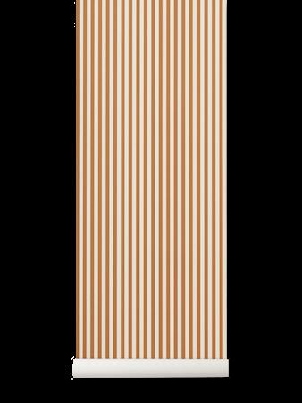 Thin Lines Tapet Mustard