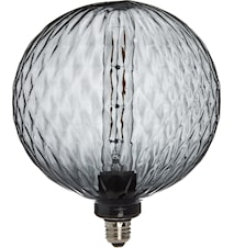 Elegance LED Cristal Cristal Grey 200 mm