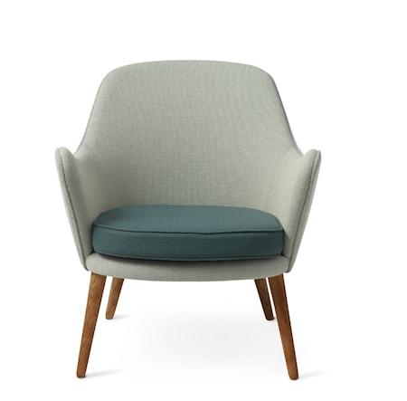 Dwell Lounge Chair Light cyan/Dark cyan Merit