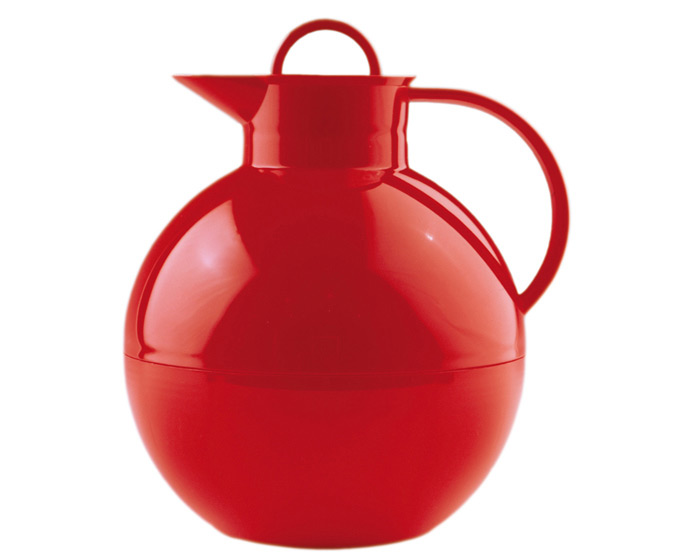 Kulan Termoskanna Blank Röd 094 liter