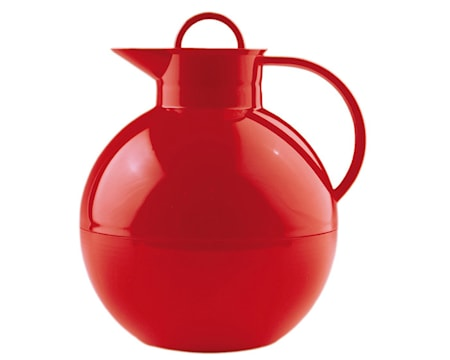 Kulan Termoskanna Blank Röd 0,94 liter