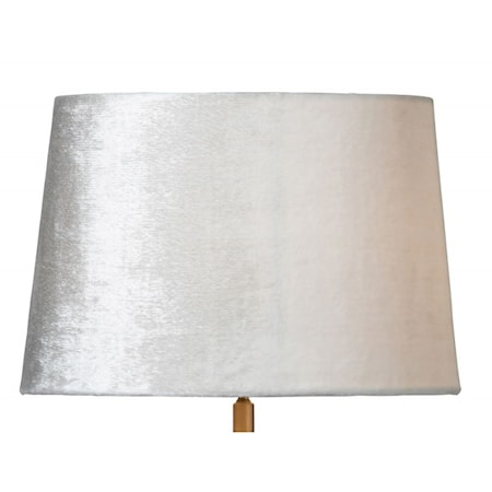 Lola 33 cm lampeskjerm - Cream