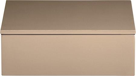 Lux Lacquer Box Fawn 7 cm