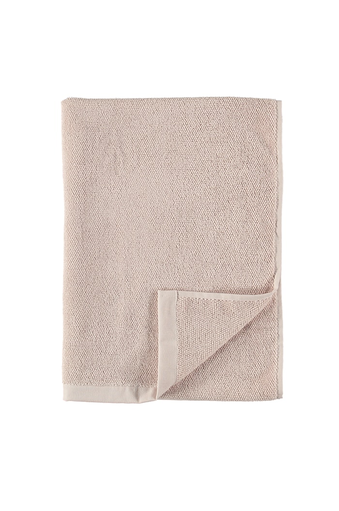 Badehåndkle Bomull/Lin 70 x 140 - Lyserosa