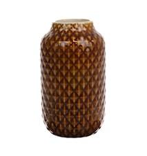 Vase Keramik Brun Glazed 148 cl