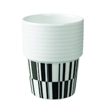 Filippa K Kahvi-/teemuki 2pack 31 cl Deco/musta