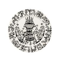 Assiette Taika 27 cm noir