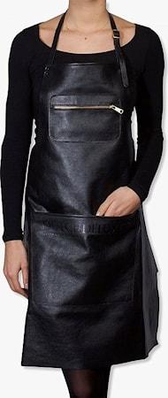 Zipper Style Förkläde Svart