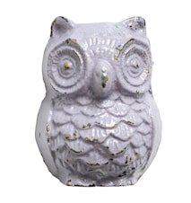 Knob Owl Iron 5x4 cm - Purple