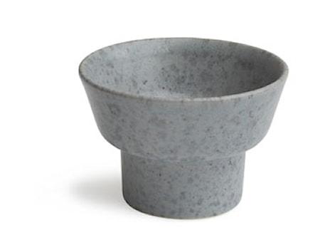 Ombria lysestage Grå blank H 5,5 cm
