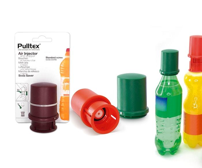 Stopp & droppkork m skruv till PET-flaskor