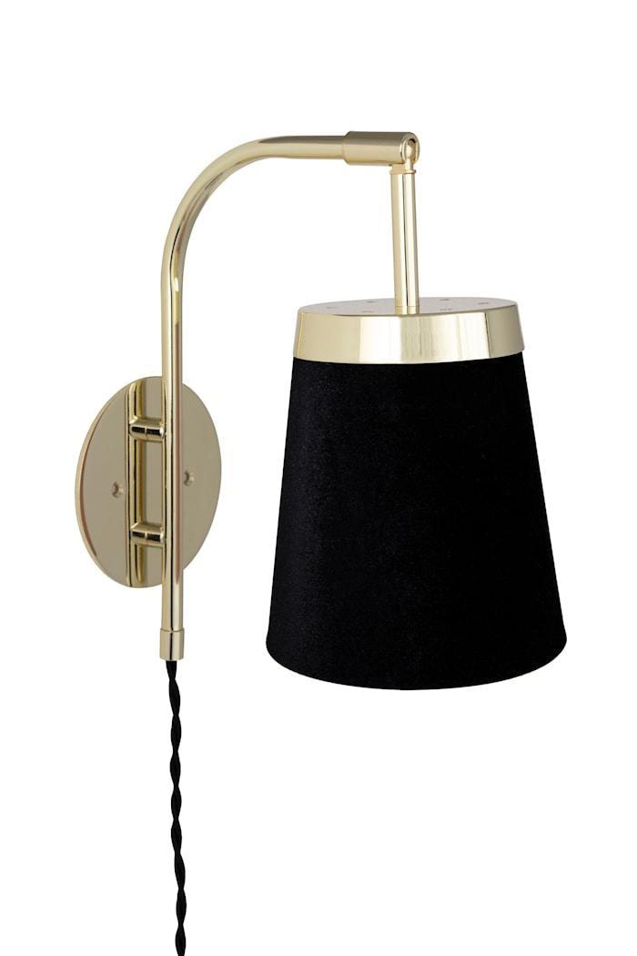 Vegglampe Walther - Svart