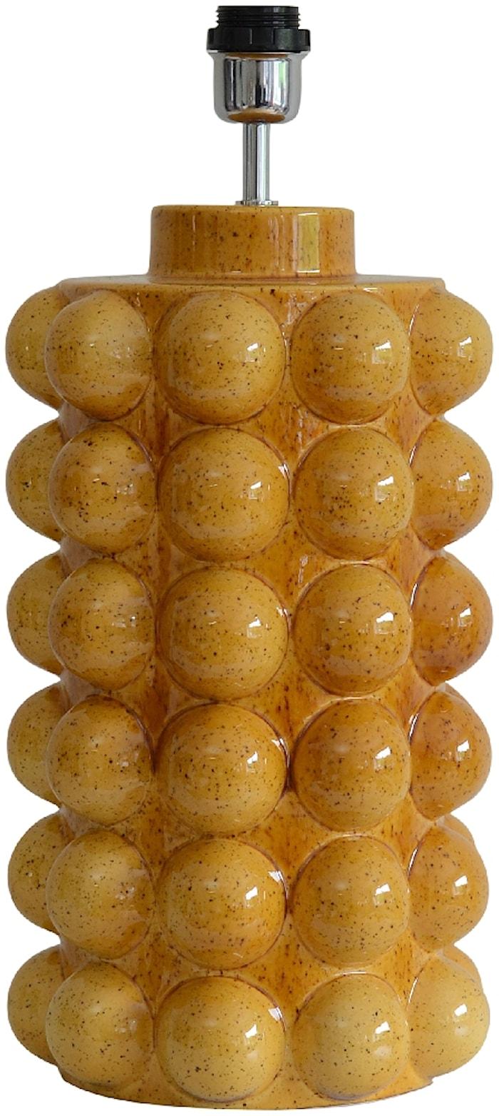 Bubbels Lampfot Mustard 49 cm