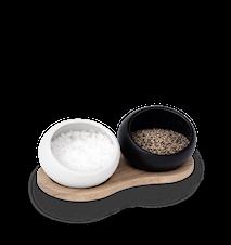 Salt- og peberkar, porcelæn