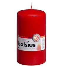 Ljus H: 13 Cm  Röd