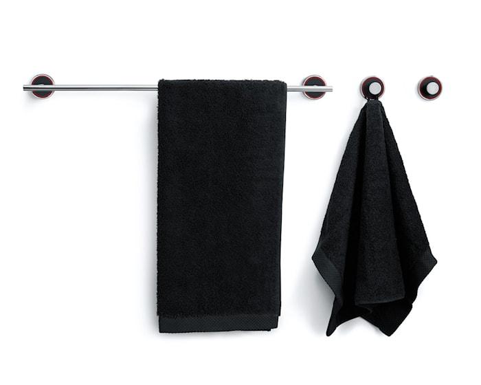 Mafalda handdukskrok screw or glue Svart